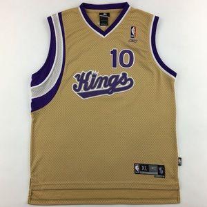 Reebok NBA Sacramento Kings Mike Bibby #10 Jersey